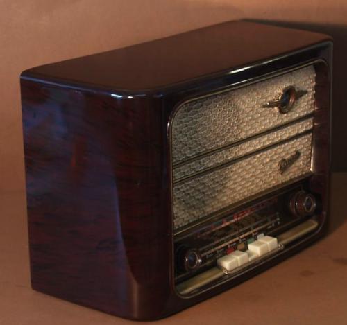 Reparacion Radios Antiguas Graetz 264WET 1956