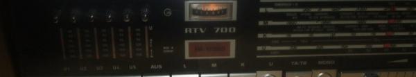 Radio Antigua Grundig RTV 700 Radioexperto.com