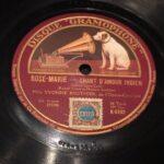 "disco pizarra gramofono ""Rose-Marie - chant d'amour indien"" radioexperto.com"