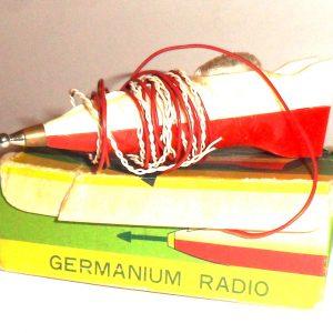 50's Crystal Rocket Radio