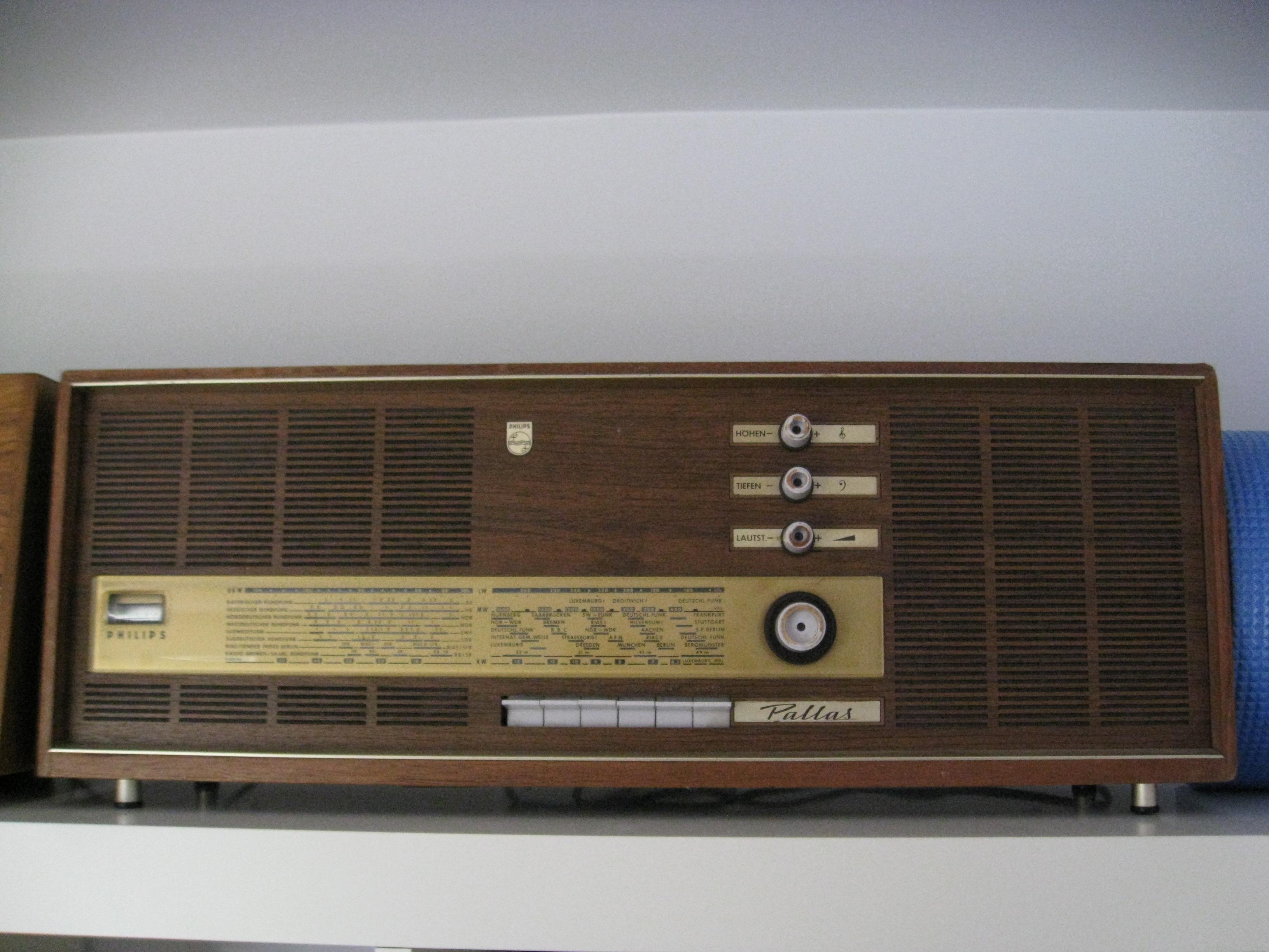 Reparacion Radios Antiguas Phillips Pallas Radioexperto.com