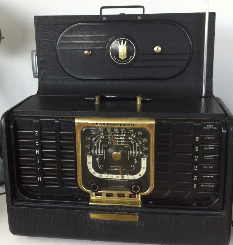 Reparacion Radios Antiguas: Radio Zenith Transoceanic G500 - radioexperto.com