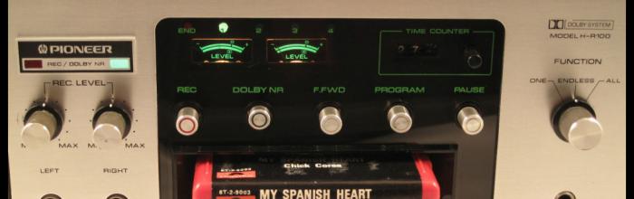 Reproductor de cintas de 8 pistas. US, años 70 Radioexperto.com