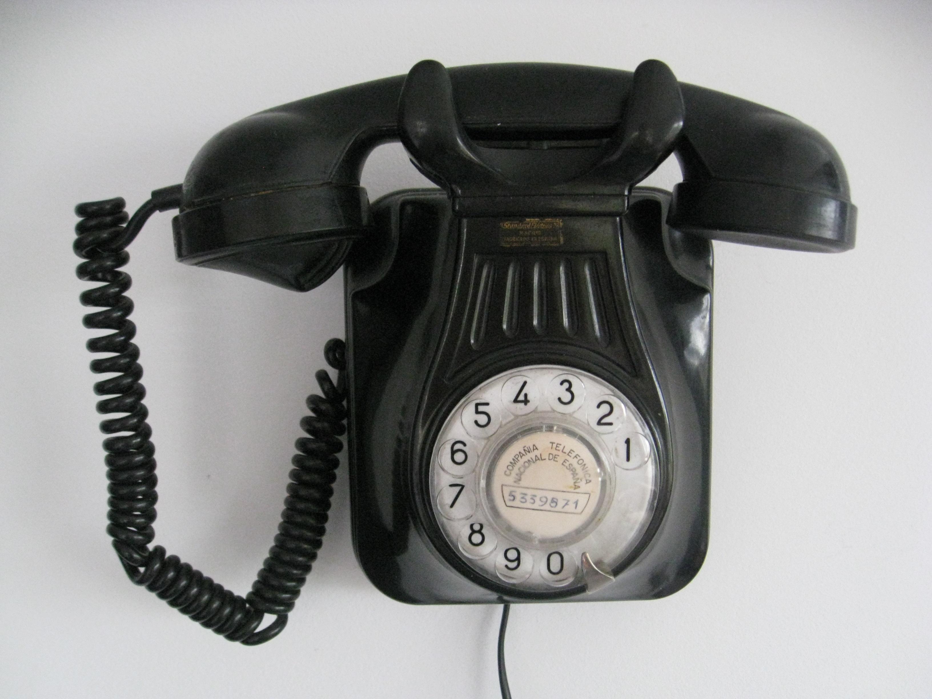 Venta de Radios Antiguas - Teléfono de CNTE años 50 Radioexperto.com