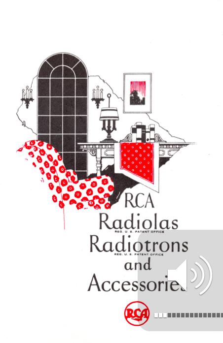 Reparacion Radios Antiguas - Catalogo Radiola años 20 - Radioexperto.com