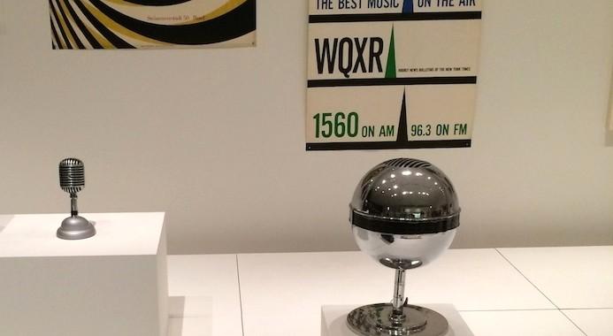 MoMA Radio - exposición permanente de historia de la radio. Primeras Radios años 40 y 50