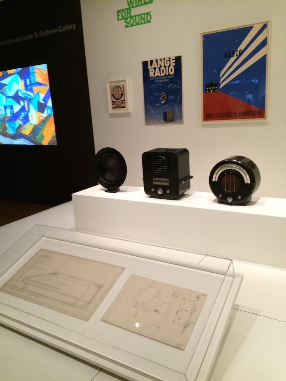 MoMA primeras radios años 30