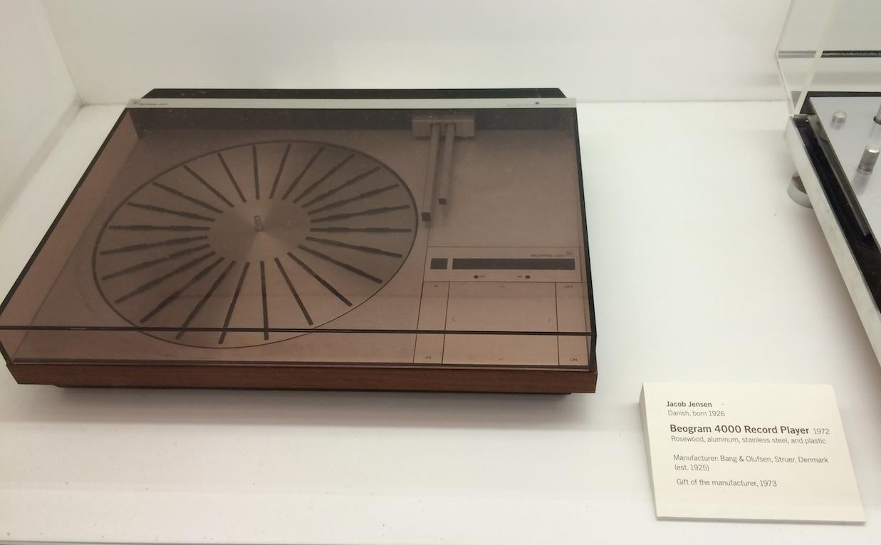 MoMA Beogram 4000 B&O