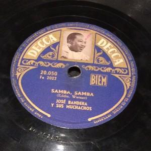 """disco pizarra gramofono - """"Samba, Samba"""" - Radioexperto.com"""