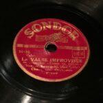 """disco pizarra gramofono """"la vals improvisee"""" Radioexperto.com"""