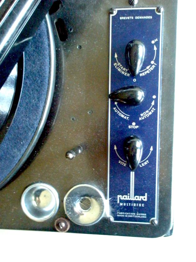 Tocadiscos electrico Paillard