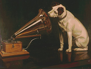 Painting His Master Voice