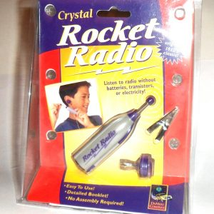 rocket crystal radio