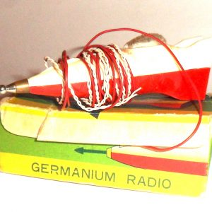 50's Crystal Rocket Radio