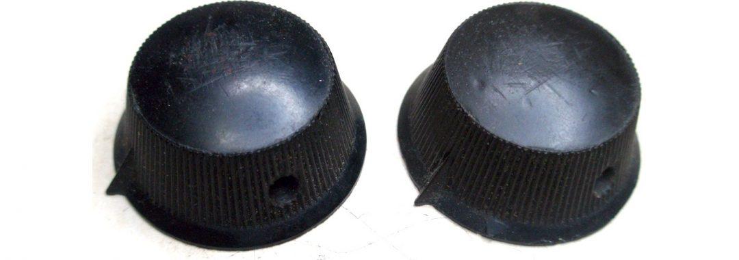 Reconstrucción de botones de radios antiguas.