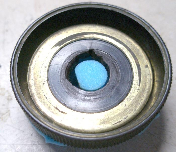 Reconstrucción de botones de radios antiguas. Radio Marconi am289 - Boton dial - 10