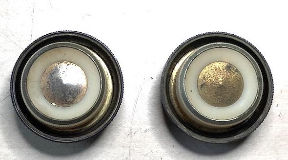 Reconstrucción de botones de radios antiguas. Radio Marconi am289 - Boton dial - 183
